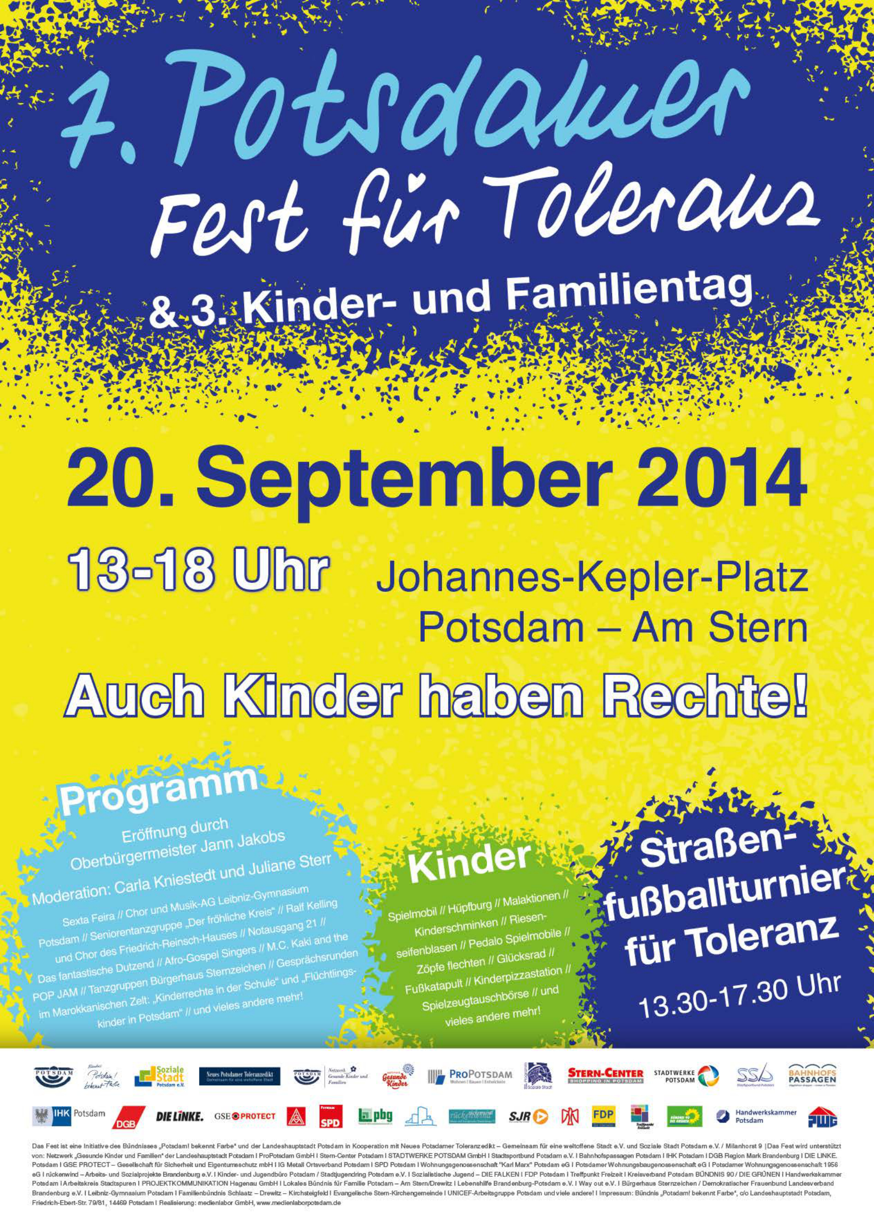 Fest für Toleranz 2014